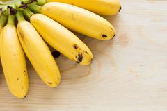 Eating Bananas Stock Photos