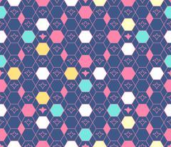 Argyle pattern. Arabic seamless ornament Stock Illustration