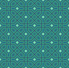 Seamless oriental pattern. Vector background - stock illustration