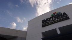 Daytona International Speedway 09 Stock Footage