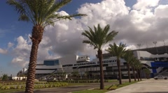 Daytona International Speedway 04 Stock Footage