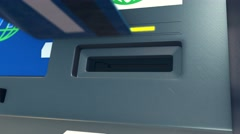 Stock Video Footage of concept of atm