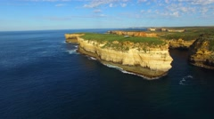 Loch Ard Gorge in Port Campbell, Victoria Stock Footage