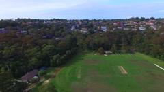 Balmoral Beach aerial view, Sydney Stock Footage