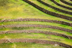 Moray inca ruins Stock Photos