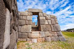 Saksaywaman in Cusco Stock Photos