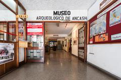 Archeology Museum, Huaraz Stock Photos