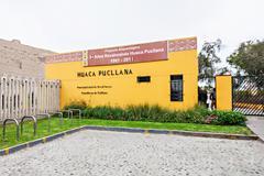 Huaca Pucllana, Lima Stock Photos