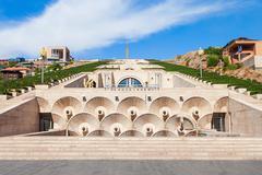 The Cascade, Yerevan Stock Photos
