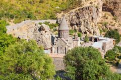 Geghard Monastery, Armenia - stock photo