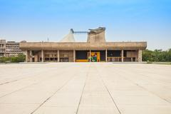 Capitol Complex, Chandigarh - stock photo