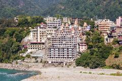 Rishikesh in India Stock Photos