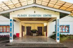 Flower Exhibition Centre - stock photo