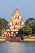 Dakshineswar Kali Temple - stock photo