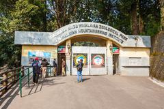 Zoo in Darjeeling Stock Photos
