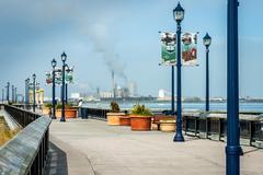 Eureka Boardwalk - stock photo