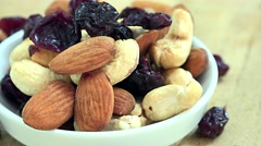 Trail Mix (seamless loopable 4K UHD footage) Stock Footage