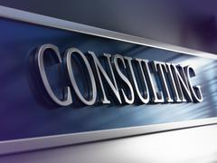 Consulting Firm, Consultancy Company Stock Illustration