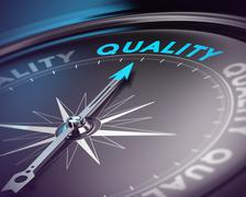 Quality Assurance Concept Stock Illustration
