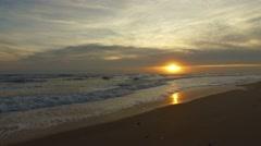 New Smyrna Beach Morning 19 Stock Footage