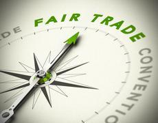 Fair Trade Consulting Stock Illustration
