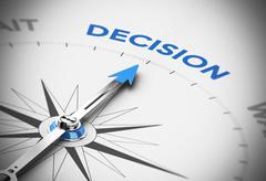 Stock Illustration of Decision Making Concept