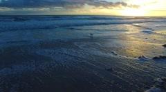 New Smyrna Beach Morning 29 Stock Footage
