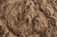 Insulation Materials - Glass Wool Detail Stock Photos