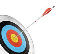Target shooting - goal or objectives Stock Illustration