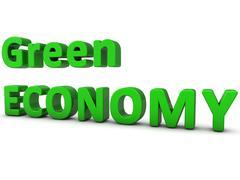 Green Economy Stock Illustration