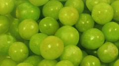 Grapes Rotating Closeup Stock Footage