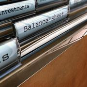 Balance Sheet, Accounting Documents - stock illustration