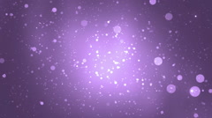 Abstract lights bokeh violet background. - stock footage