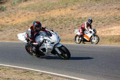 Motorcycle Road Racing - stock photo