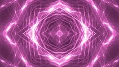 VJ Fractal pink kaleidoscopic background. Stock Footage