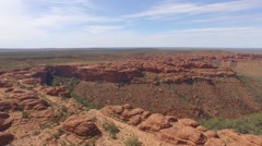 Kings Canyon Aerial Stock Footage