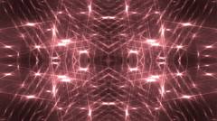 VJ Fractal red kaleidoscopic background. - stock footage