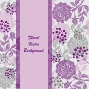 "floral background<br><a href=""/artist/Debopre"" target=""_blank"">Debopre</a> - stock illustration"
