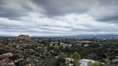 West San Fernando Valley Time Lapse in Los Angeles California Stock Footage