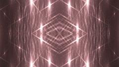 VJ Fractal red kaleidoscopic background. - stock footage