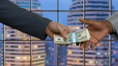 Profitable business. Buying an apartment. - stock footage
