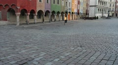 Poznan Old Town, Poland Stock Footage
