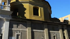 Church of Saint Anne in Vatican City Stock Footage