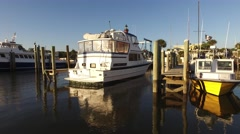 Florida PonceInlet Estuary Cruise 15a Stock Footage