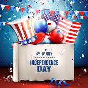 4th of July - stock illustration
