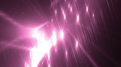 Disco spectrum lights concert pink spot bulb. - stock footage