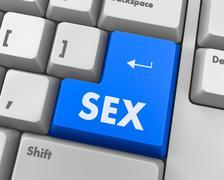 sex - stock illustration