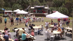 2016 Annual Swamp Fest At Weeki Wachee Springs State Park Florida - stock footage