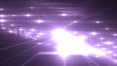 Disco spectrum lights concert violet spot bulb. - stock footage
