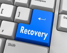 Recovery - stock illustration